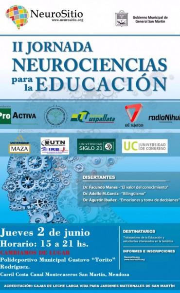 La 2 Jornada de Neurociencias para la Educación en San Martín
