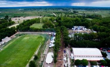 Desinfectación del Polideportivo de Rivadavia