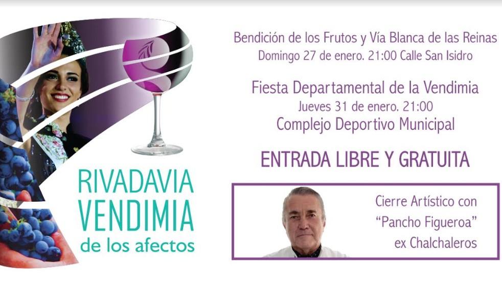Rivadavia: Nuevo escenario para la fiesta departamental de la vendimia