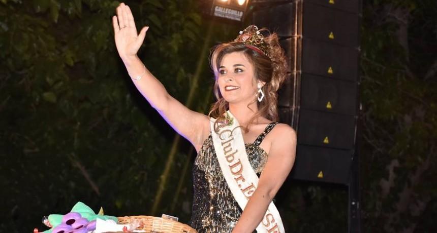Santa Rosa: Florencia Violino es la Reina de la Vendimia 2019 del Club Eliseo Ortiz