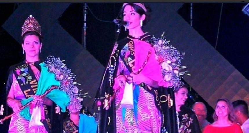 La Paz coronó a Romina Platero  como su nueva reina de la Vendimia