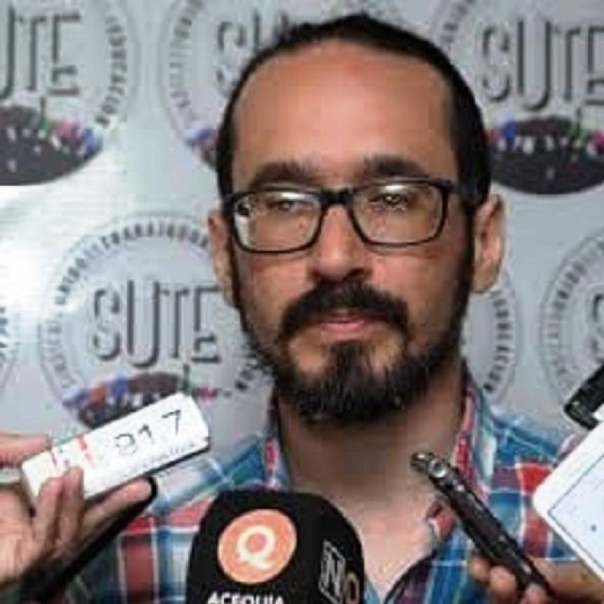 El SUTE apartó a Sebastián Henríquez por una denuncia de violencia de género