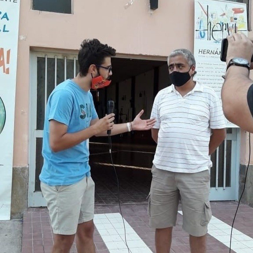 """¡Ay Tierra!"", de Hernán Vidal ""HERVI"", pasó por Santa Rosa"