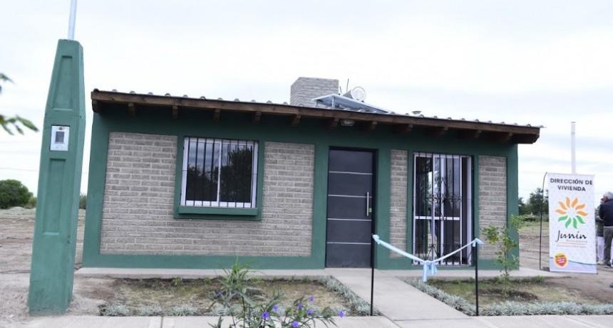 Junín inauguró la vivienda social más ecológica y sustentable de toda Latinoamérica
