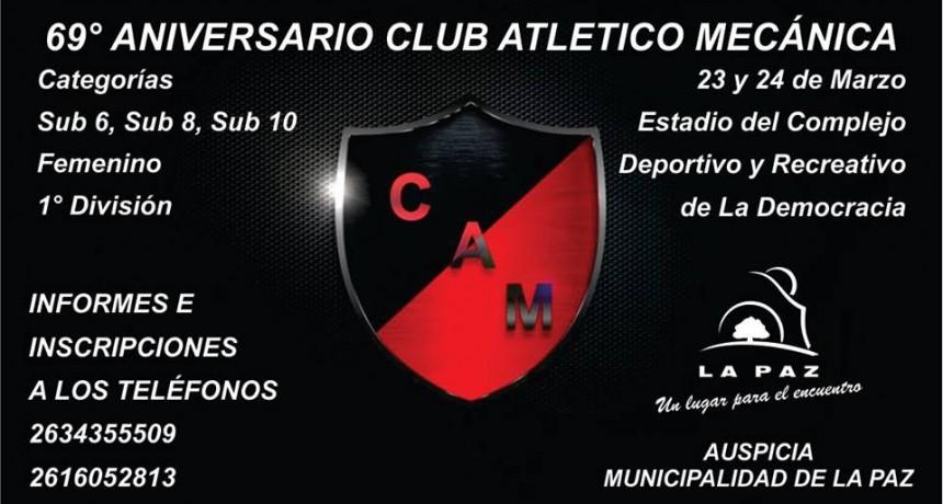El Club Mecánica prepara su celebración del 69 Aniversario