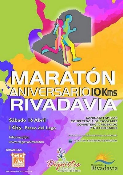 Rivadavia: Se viene la Maratón Aniversario 2016