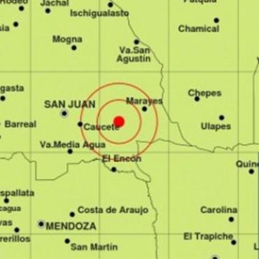 Tembló en San Juan y se sintió en Mendoza