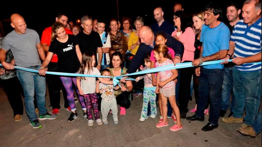 Rivadavia: Quedo inaugurada la tercera etapa del plan municipal de asfalto