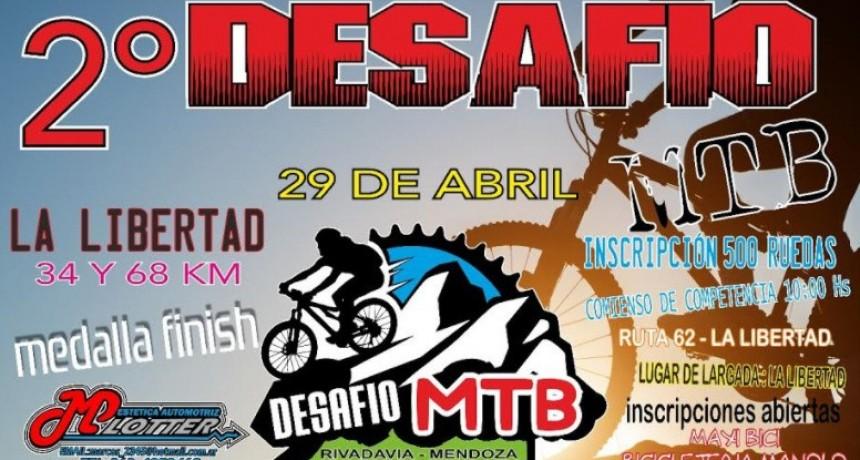 Se palpita el 2° desafío MTB en los senderos de Rivadavia