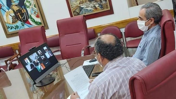 El Honorable Consejo Deliberante sesionó de manera online