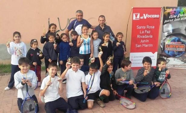 Las fotos del Torneo Vendimia de Tenis - Club Eliseo Ortiz