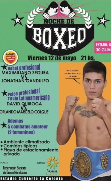 Festival de Boxeo en La Colonia