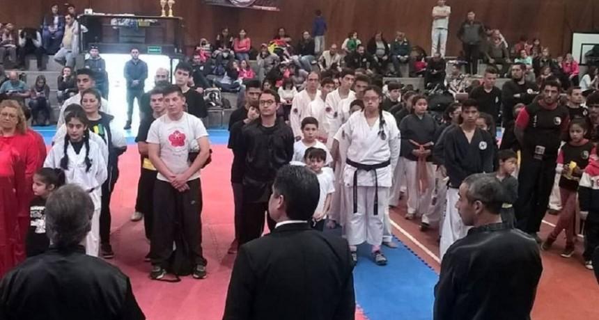 Deportistas de La Colonia obtuvieron reconocimientos en un Torneo de Artes Marciales