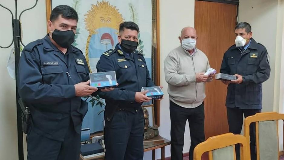 El Intendente Miguel Ronco se reunió con autoridades de seguridad