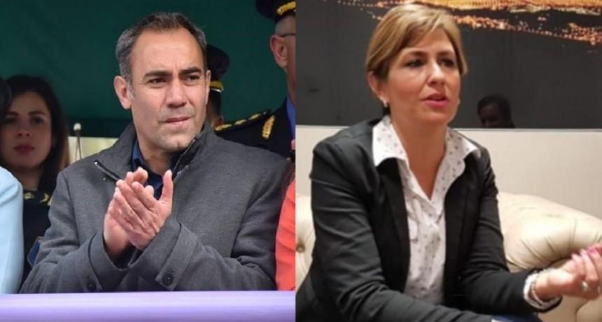 Duro cruce entre Debora Quiroga y Marcos Nuarte, a pesar de la cuarentena