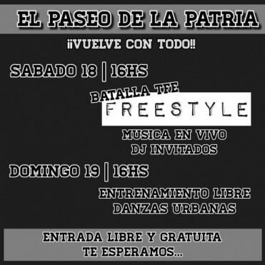 San Martín: Vuelve el mejor Hip Hop al Paseo de la Patria