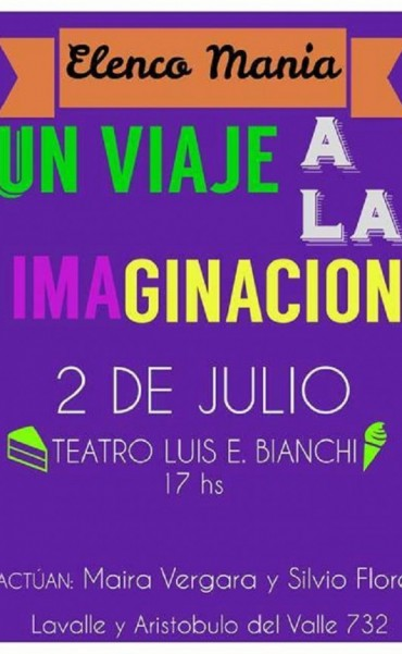 """""""Un viaje a la imaginación"""" en el Teatro Bianchi"""