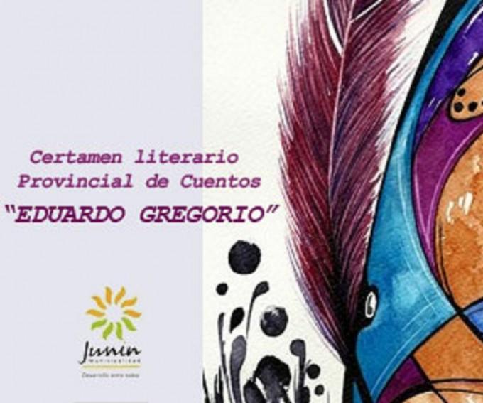 Entrega de premios X Certamen Literario Provincial Eduardo Greorio, en Junín