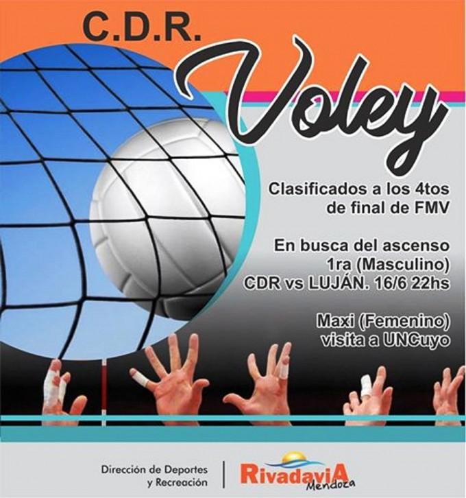 El Voley del Centro Deportivo Rivadavia sigue en crecimiento