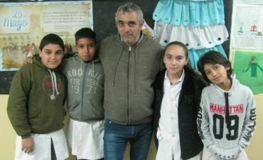 Alumnos de una escuela albergue de Santa Rosa viajarán a España representando a toda Latinoamérica.