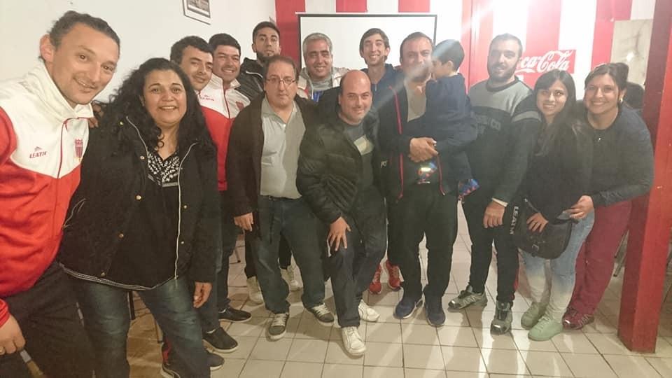 Asumió formalmente la nueva Comisión Directiva del Club Eliseo Ortiz