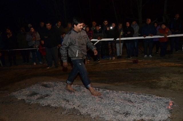 Se encendió la fogata de San Juan en La Libertad