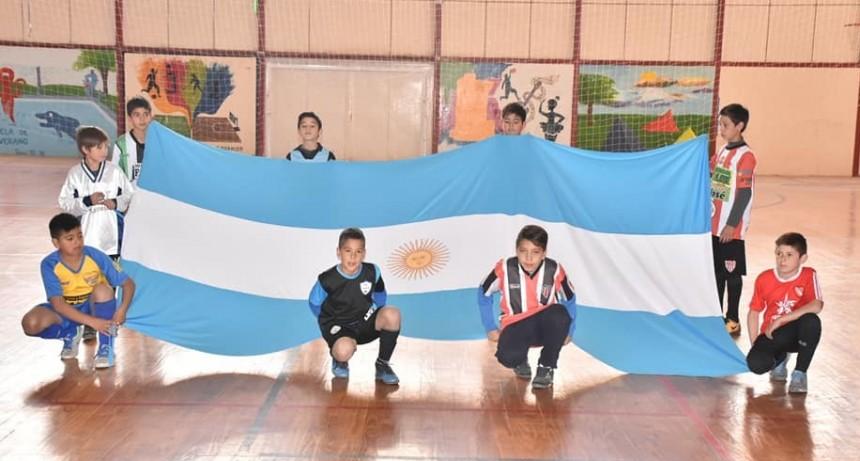 Dió apertura la Liga Municipal Infantil de Futsal en Santa Rosa