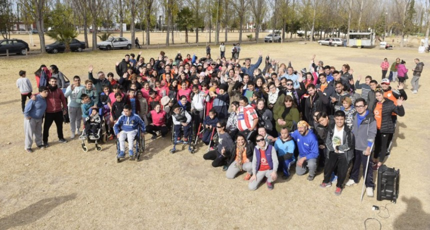 Encuentro de Deporte Adaptado en el Parque Dueño del Sol