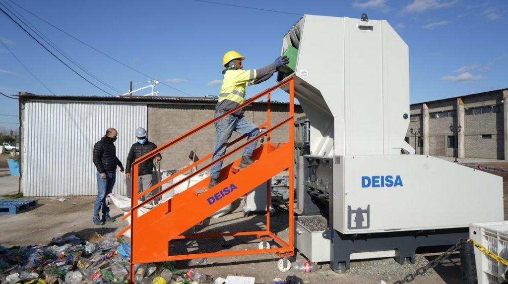 La planta de reciclado sigue incorporando nueva tecnología