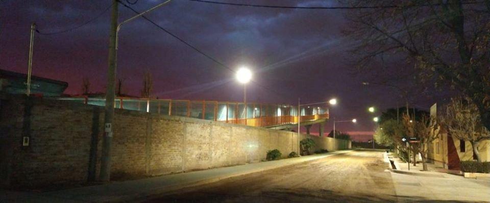 Palmira suma iluminación y nueva señalética vial