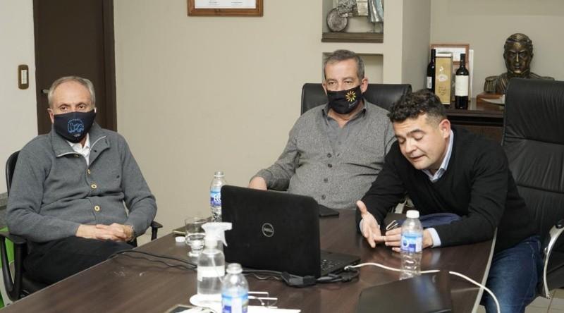 Ruiz participó de una reunión por un proyecto de ley que promueve las economías regionales