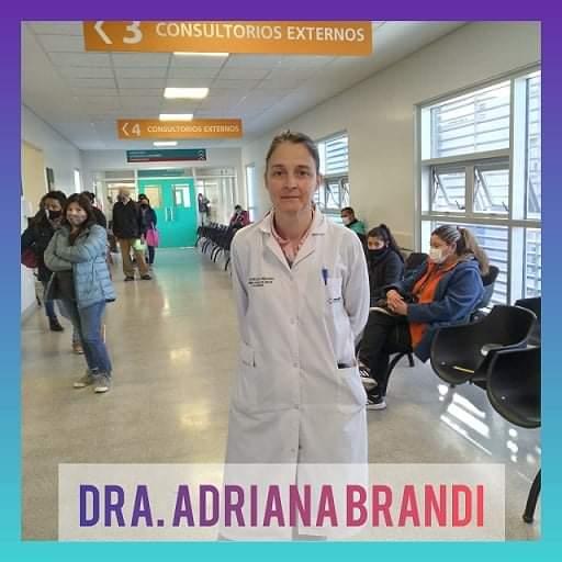 Doctora Adriana Brandi: Nueva Jefa del Servicio del Consultorios Externos del Hospital Central