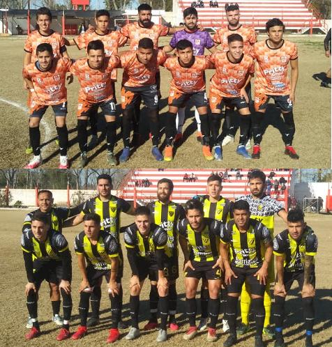 Rivadavia y Palmira empataron 1 a 1