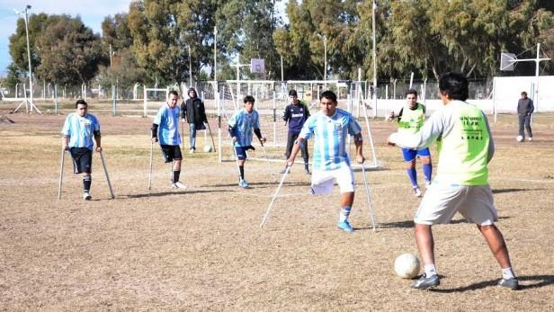 La Copa Argentina de Fútbol para Amputados se juega en La Paz