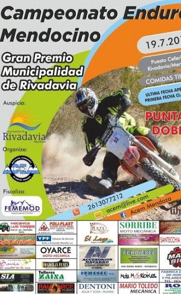 El Enduro de Mendoza se correra el 19 de Julio en Rivadavia