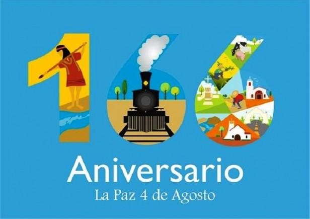 La Paz ya comienza a celebrar su 166° aniversario