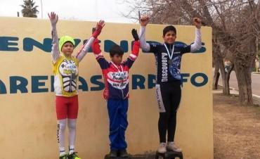 Se corrió la primera fecha del cuyano Infanto – Juvenil de ciclismo en Las Catitas