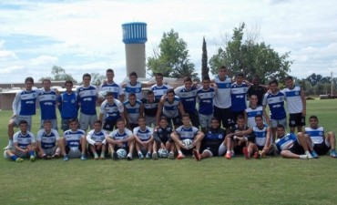 Prueba de jugadores del club Godoy Cruz Anontonio Tomba en Rivadavia