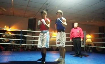 Se desarrolló un nuevo festival de Boxeo y Kick Boxing en el Club Eliseo Ortiz
