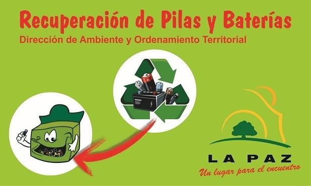 El municipio lanzó el programa de recuperación de pilas y baterías