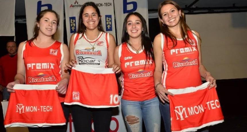 Rivadavia hockey presentó su nueva indumentaria