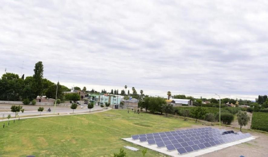 Junín inaugurará su parque solar el viernes 12 de Julio