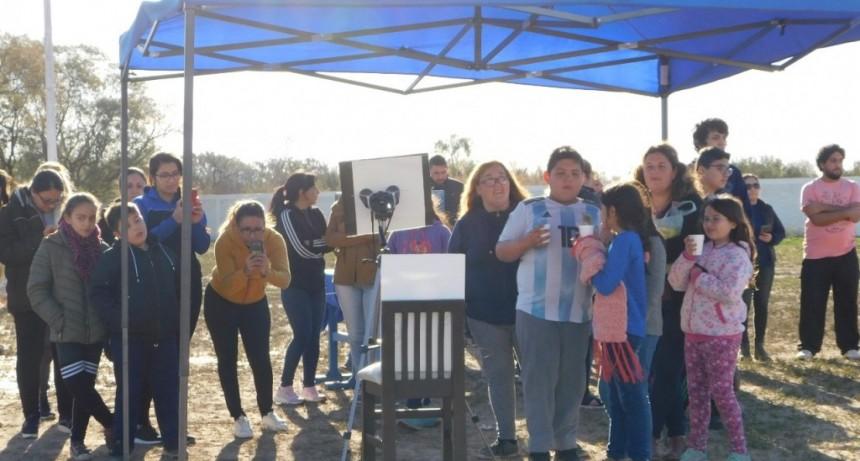 Con el fenómeno del eclipse solar se puso en marcha en La Paz el Programa Astroturismo