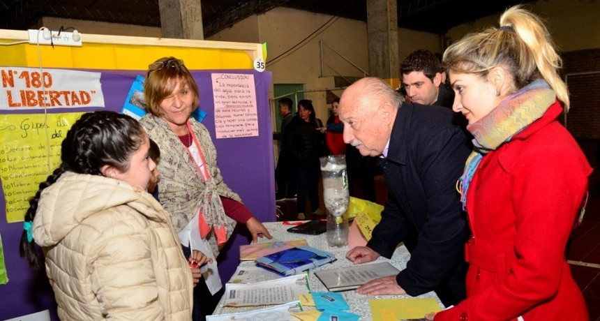 Rivadavia disfrutó de una nueva Feria de Ciencias