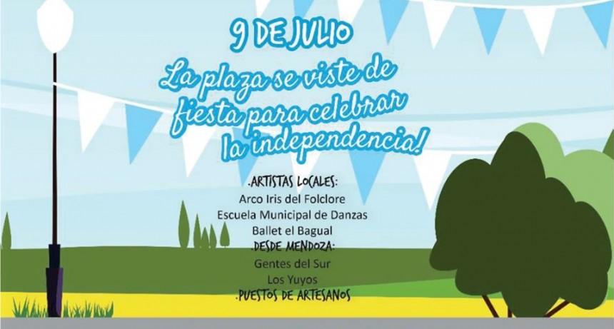 La plaza departamental de La Paz se vestirá de fiesta el día de la Indepencia