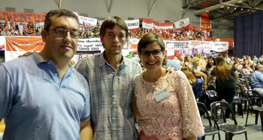 Ezequiel Quiles y Roberto Vanin le soltaron la mano a Débora Quiroga y ratificaron su apoyo a la candidatura de Norma Trigo