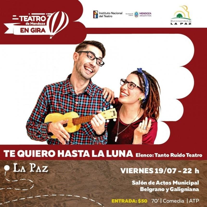 La multipremiada obra teatral Te quiero hasta la Luna, llega a La Paz