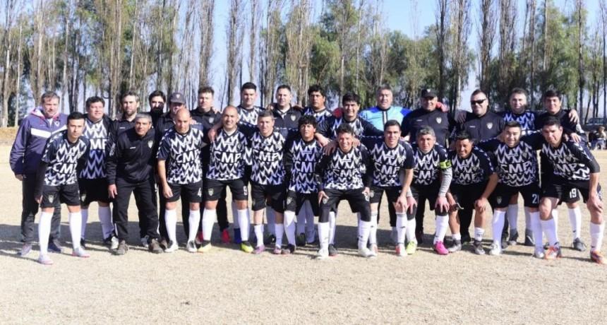 Club Mario Pastran sostuvo su hegemonía en la liga de veteranos de fútbol de Junín