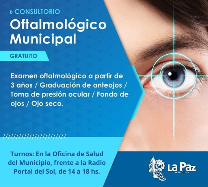 La Paz: Consultorio Oftalmológico Municipal