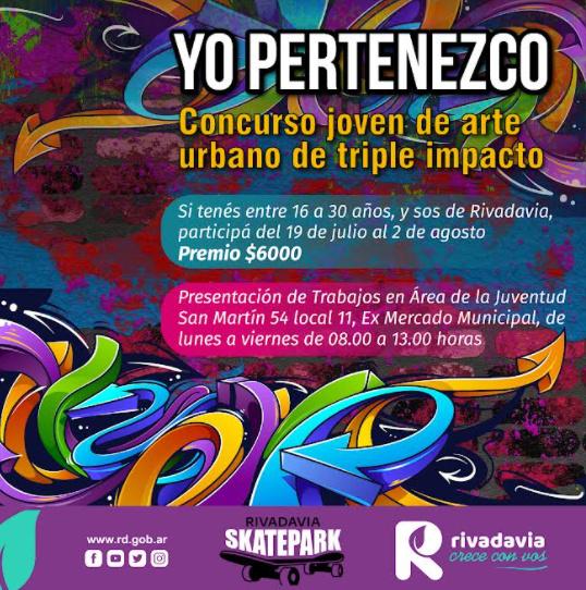 Comenzó el concurso de arte urbano «Yo pertenezco»